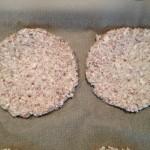 Pizza bodem van bloemkool en amandelmeel