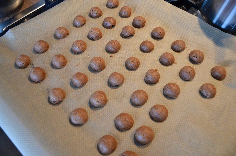 spelt pepernoten in de oven