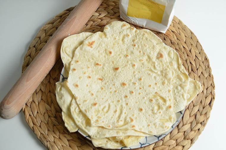 Tortillas maken, zo doe je het zelf