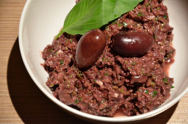 Tapenade – vegan broodbeleg