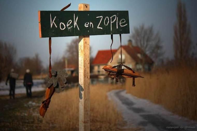 Restaurant Day wintereditie:  ProeveRijk goes Koek en Zopie