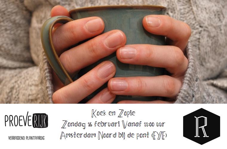 Restaurant Day – Dagje Amsterdam met Koek en warme choco