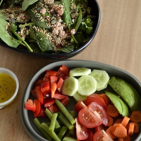 Tip: Salade eten op het werk!
