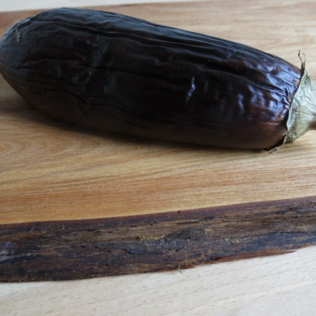 Recept: Spread van aubergine, cacao en tahin