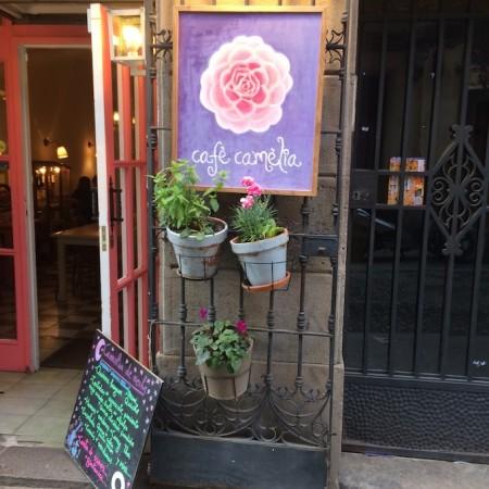Bio hotspot in Barcelona: Café Camèlia