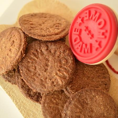 Kruidige, glutenvrije, vegan koekjes
