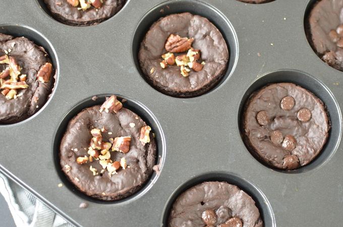vegan chocolademuffin