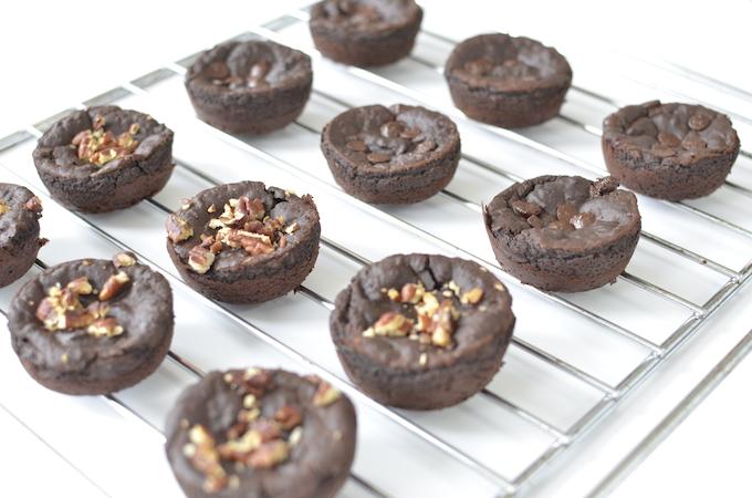 glutenvrije chocolademuffin met bonen