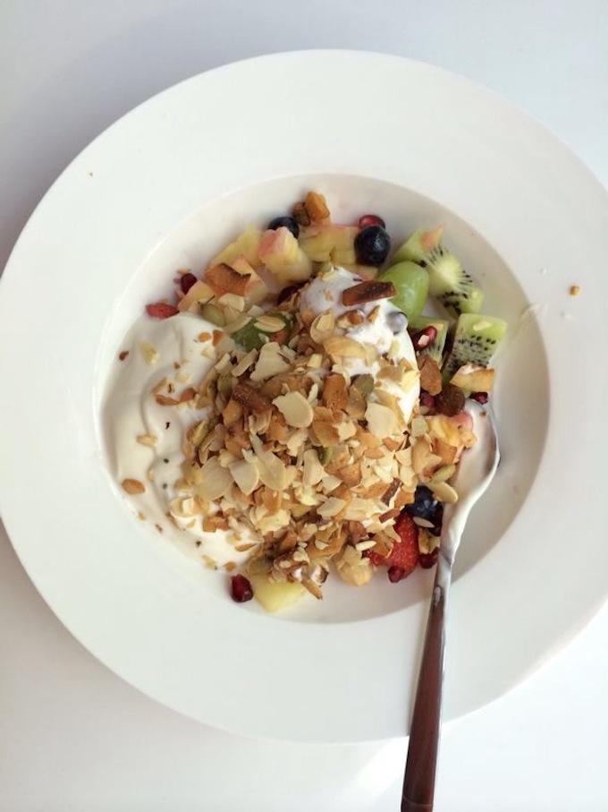 kokos yoghurt ontbijt