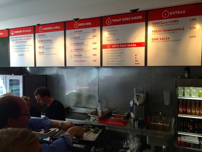 Nieuw soort Mexicaans restaurant