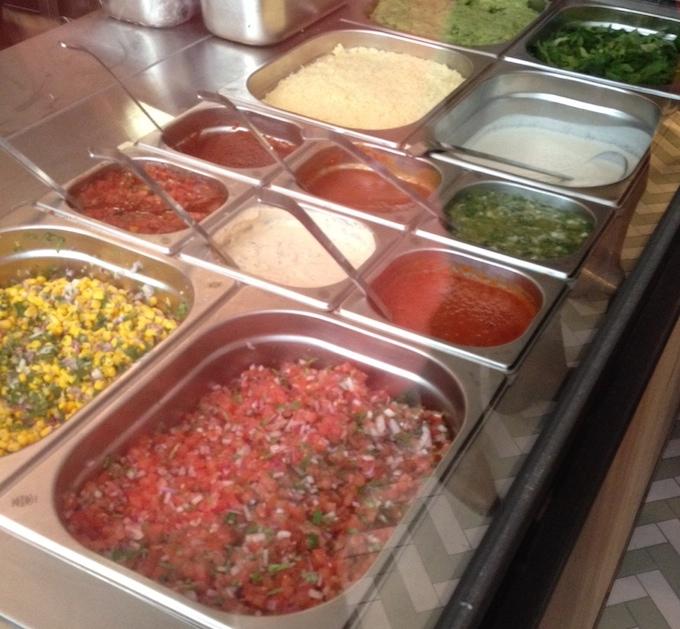 lekkere salsas en toppings