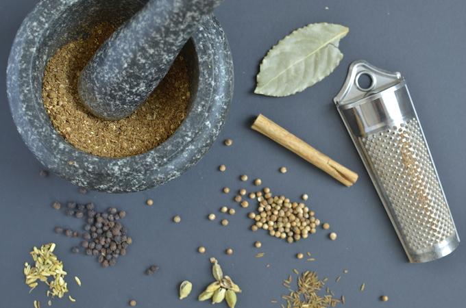 zelf garam masala maken