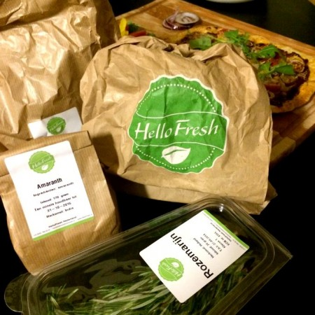 HelloFresh veggie box