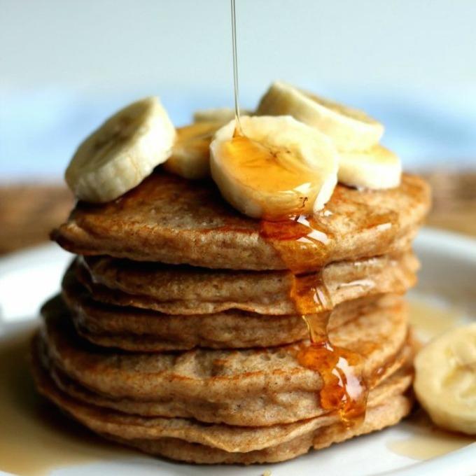 Pannenkoeken zonder melk en ei