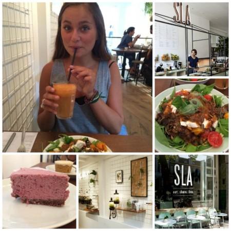 SLA Amsterdam, voor als je gezond buiten de deur wilt eten!