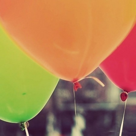 Balonnen horen bij een feestje, net als cocktails