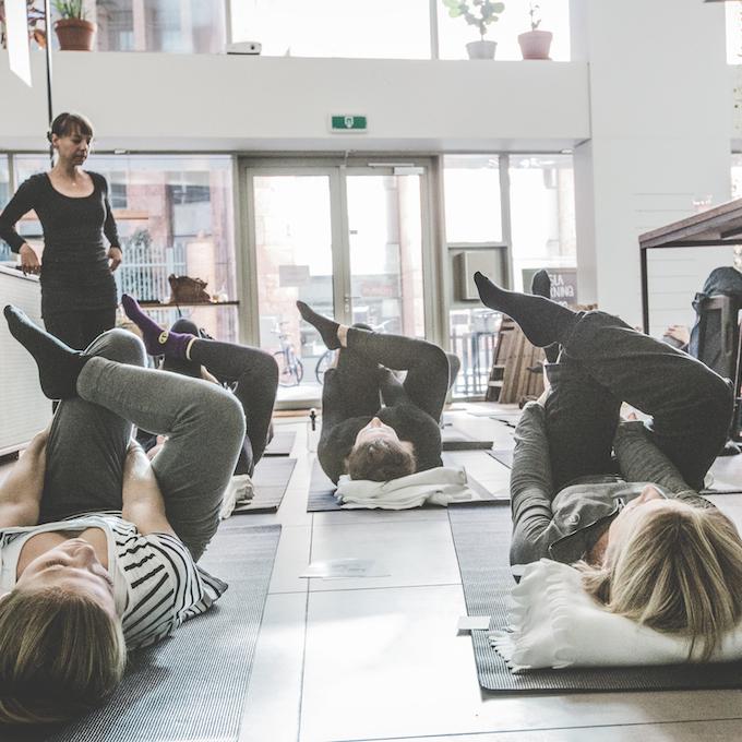 yin yoga, mindfull eten cursus