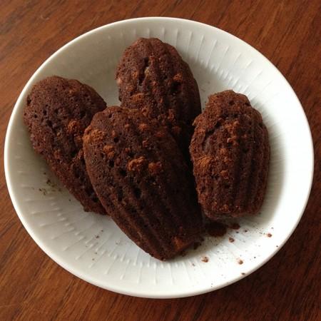 Mushy chocoladecake met amandelen en banaan