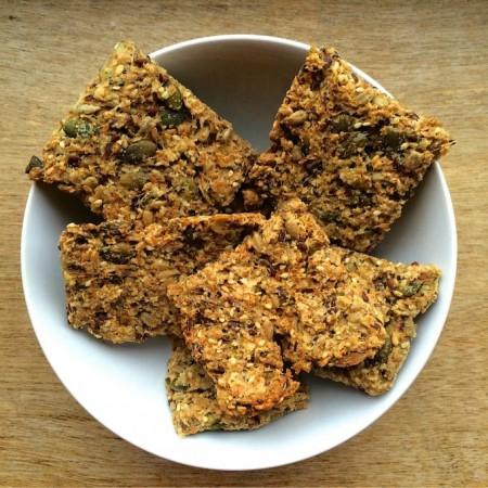 Vegan crackers