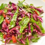 De rodekoolsalade van de Sunday Crunch