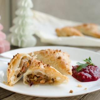 Vegan kerstrecept: kastanjeflappen met cranberrysaus