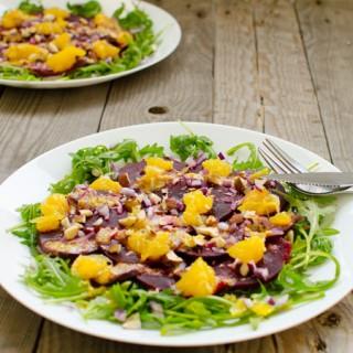 Vegan kerstrecept: bietencarpaccio