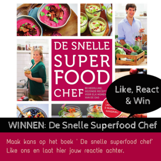 winnen snelle superfood chef