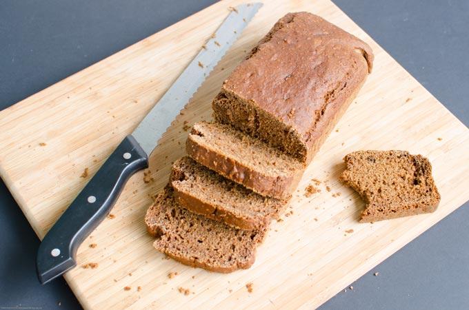 Ontbijtkoek zonder melk, ei en geraffineerde suikers
