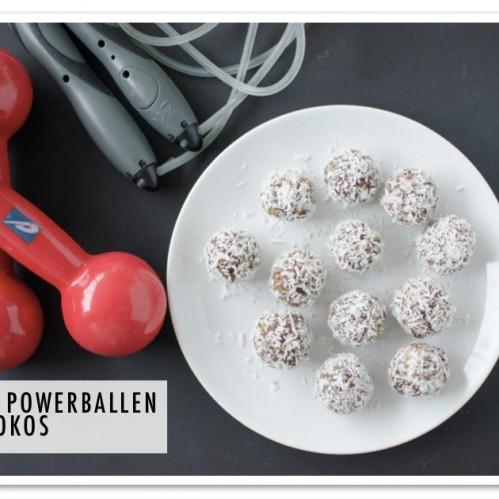 Dadel kokosballen - Gezonde Tussendoortjes