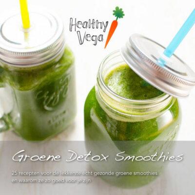 Groene Detox Smoothies cover