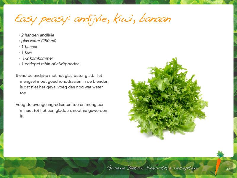 Groene Detox Smoothies recept
