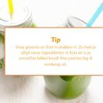 Groene Detox Smoothies tip