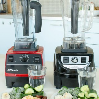 Vitamix 5200 en Optimum 9400 review: boerenkool smoothie maken