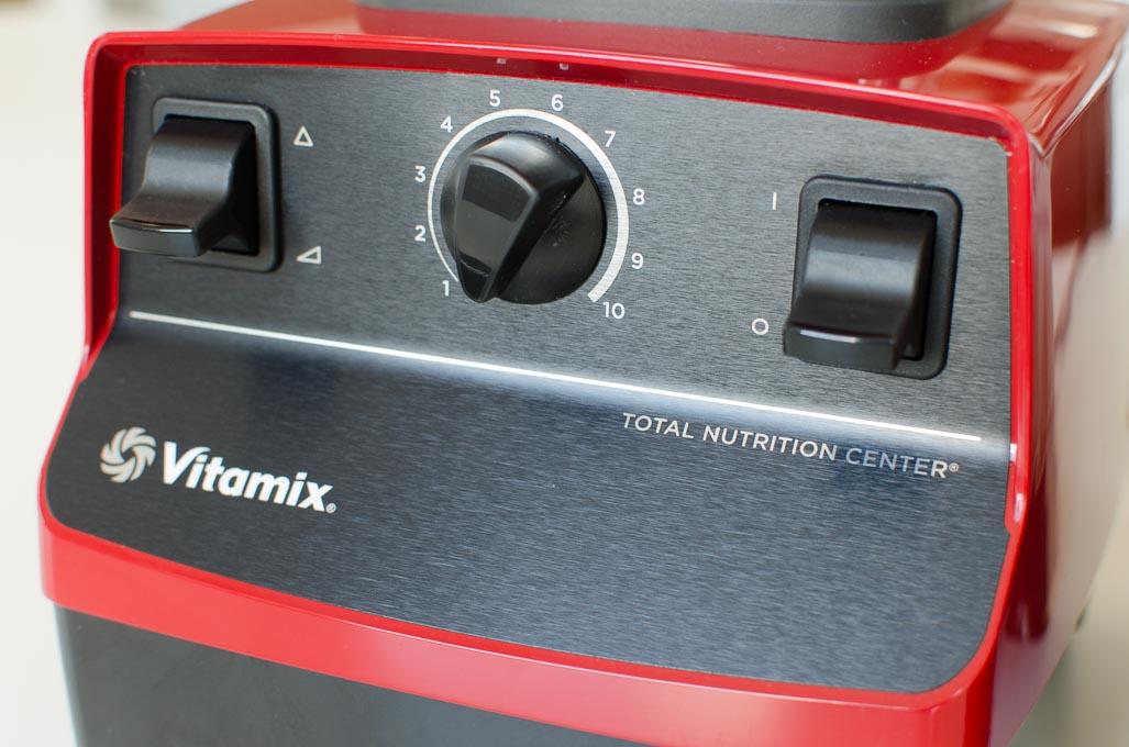 Vitamix 5200 bedieningspaneel