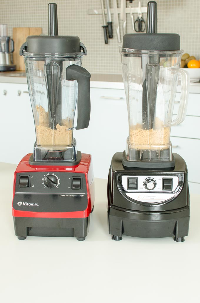Vitamix 5200 en Optimum 9400 review: pindakaas maken 4