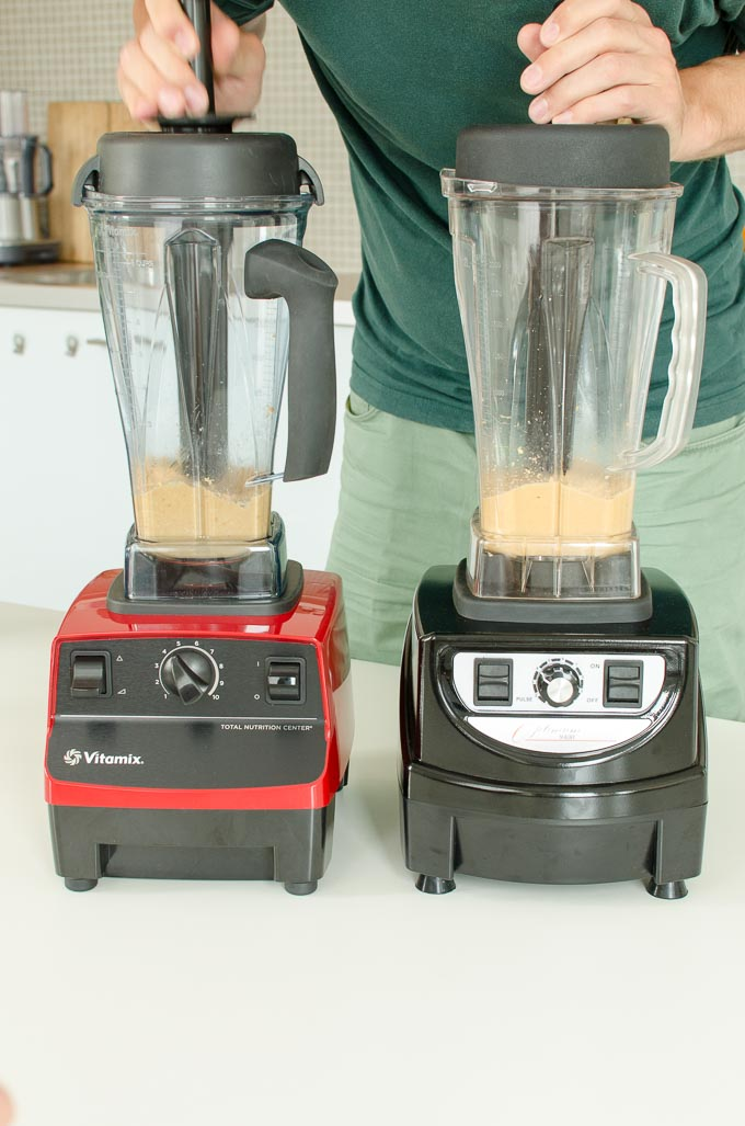 Vitamix 5200 en Optimum 9400 review: pindakaas maken 5